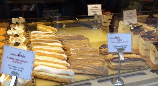 Classic French eclairs
